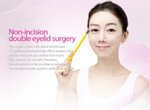 non-incision double eyelid surgery